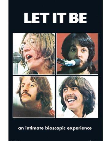 Posters novos Beatles Let it - Abbey Road Tracks
