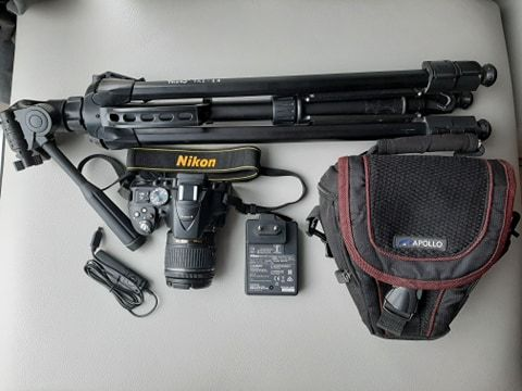 LUSTRZANKA NIKON 5300 z akcesoriami