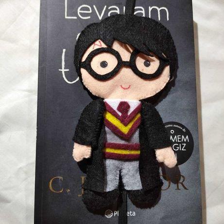 Marcadores de Livros Harry Potter