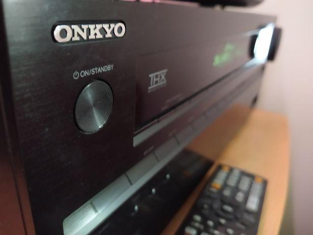 Świetny amplituner kina domowego 7.1 5.1 Onkyo 616 sieciowy THX