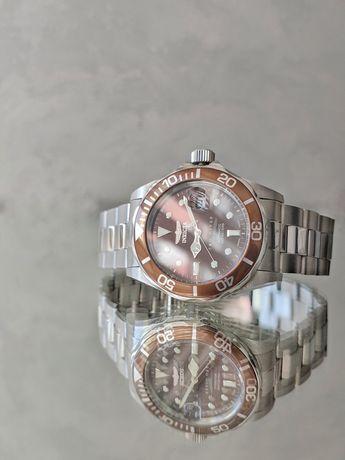 Оригинальные механические мужские часы Invicta 4606 Miyota 21 jewels