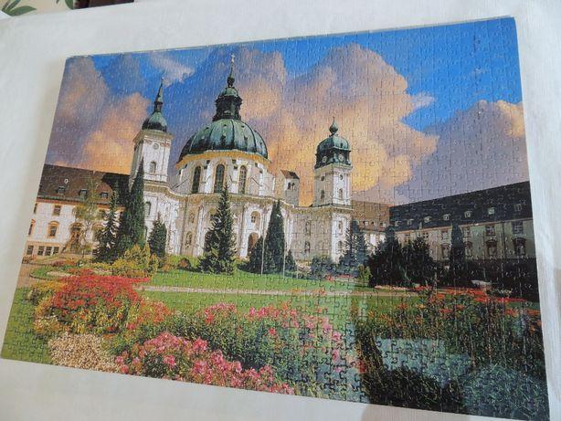 Kolekcja ułożonych obrazów z puzzli 15 zł sztuka - nr 6