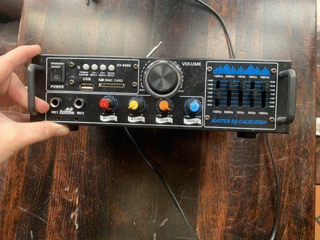 Amplifier AV-0096, wzmacinacz usb sd mp3 fm 200W