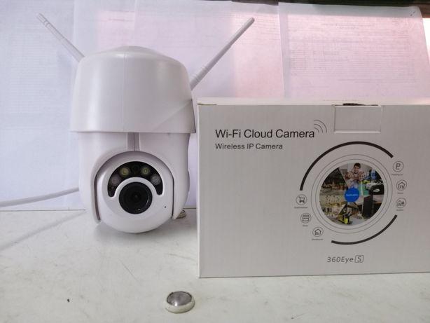 Wi-Fi IP Камера видеонаблюдения уличная 1080hd  беспроводная, поворотн