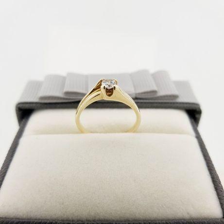 Złoty pierścionek p.585 roz.13