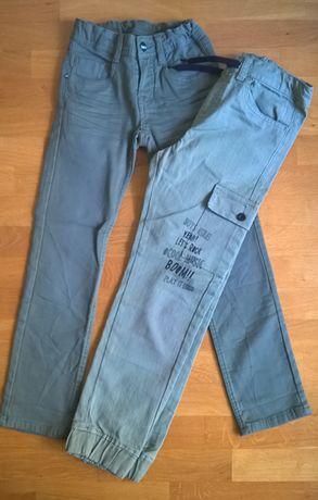 spodnie bawełniane 140