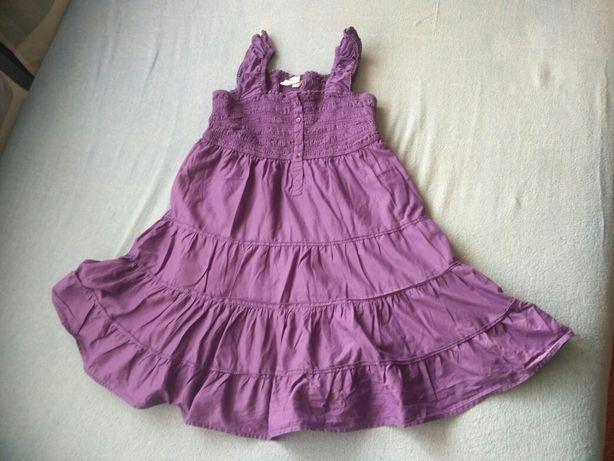 sukienka letnia rozm. do 140