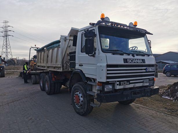 Scania 113 6x6 wywrotka