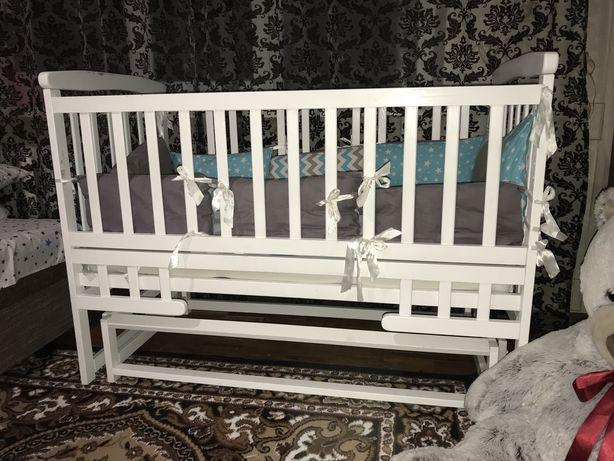 Дитяче ліжечко трансформер ліжко Дитячий сон Детская кроватка