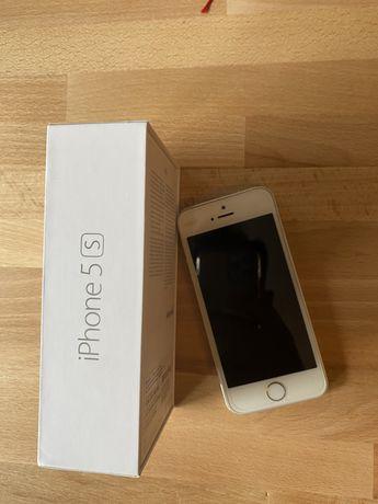 IPhone 5s silver 6 etui