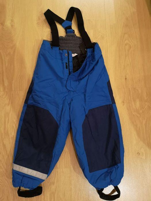 Зимние штаны H&M  на 3-4 года Вишневое - изображение 1