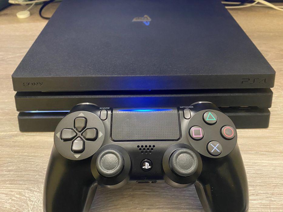 Как новая Sony PlayStation 4 pro + игры Харьков - изображение 1
