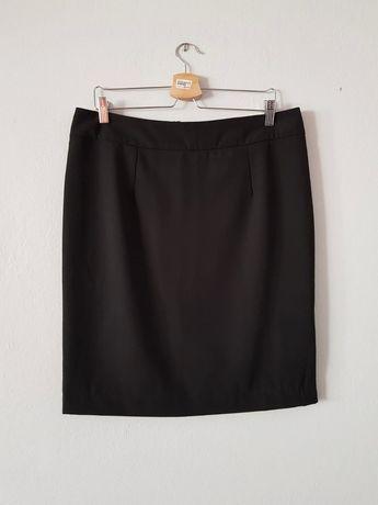 Czarna ołówkowa spódnica, Risoe, rozmiar 42