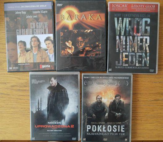 Zestaw filmów na DVD (5 filmów)
