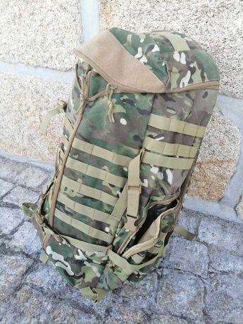 Mochila Campismo Militar Camuflado 70L