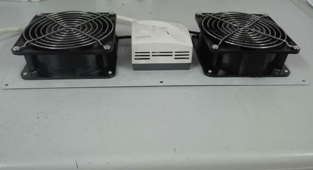 Kit ventilação Olirack c/termoestato