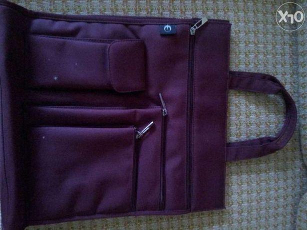 Torebka torba podróżna bagaż podręczny damska śliwka