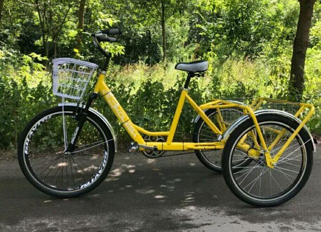 Велосипед трёхколёсный для взрослых