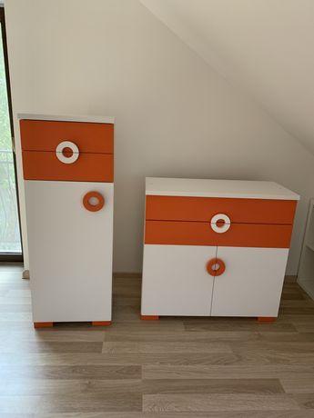 Zestaw mebli ATB  Classic komody, łóżeczko, półka