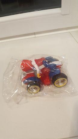 Nowy Ryder pojazd Quad Psi Patrol gumowe koła