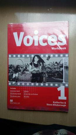 Książka workbook voices nowa