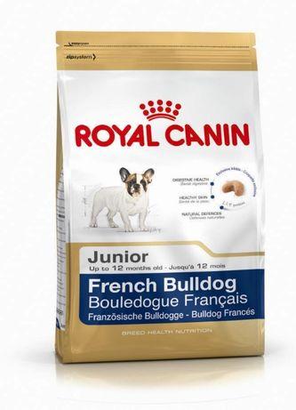 ROYAL CANIN FRENCH BULLDOG Junior 3 x 1= 3 kg + 3 gratisy