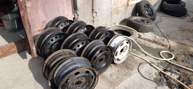 Металеві диски 4х100r14 kia Hyundai