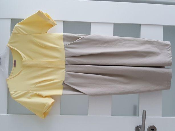 Sukienka ciążowa, do karmienia happy mum xs