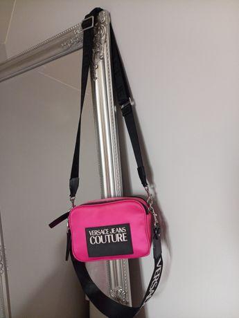Versace jeans couture różowa torebka
