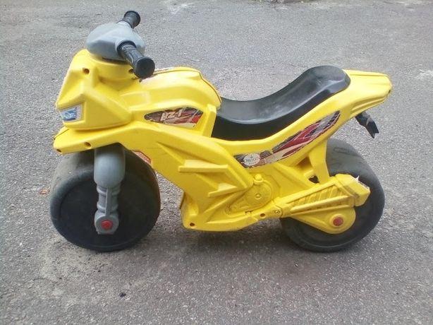 Беговел мотоцикл детский велобег толокар Орион