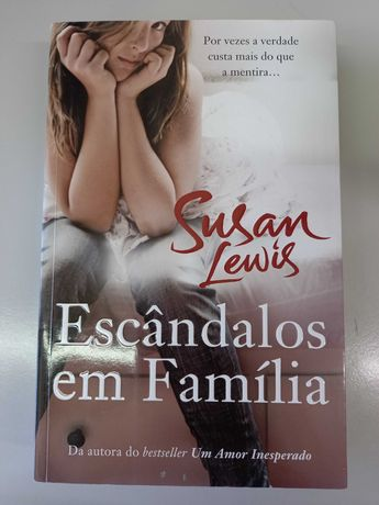 Escândalos de Família de Susan Lewis (portes incluídos)