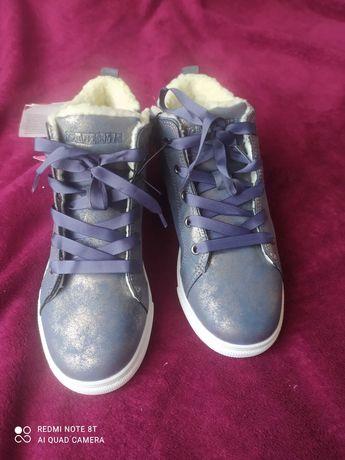 Новые зимние сникерсы ботинки Польша youngStyle 35 - 22.5 см
