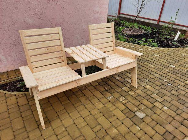 Садовая  скамейка «TWINS»