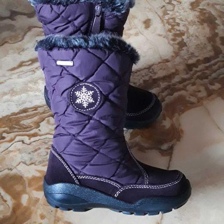 EVEREST gore tex детские брендовые зимние ботинки 26р сапоги