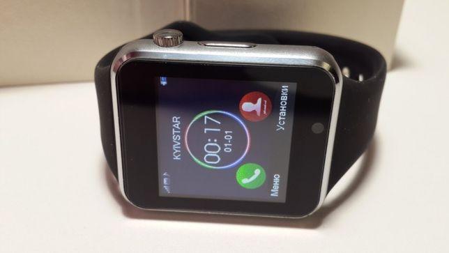 Умные смарт часы (SD карта памяти) черные