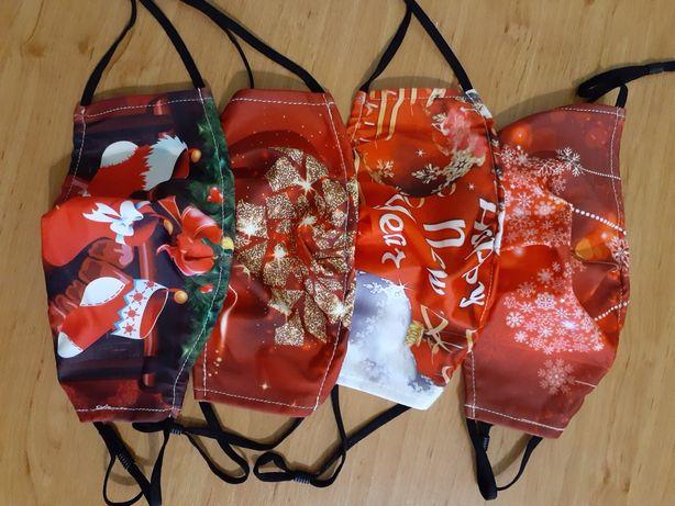 Новогодние, праздничные маски