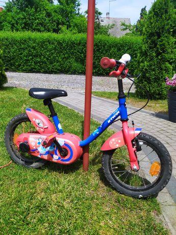 Rowerek 14 cali + boczne kółka