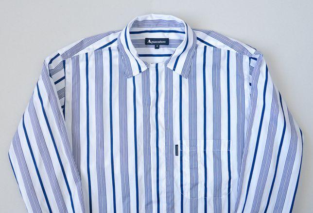 Рубашка Aquascutum. футболка armani burberry d&g. ткань boss canali. M