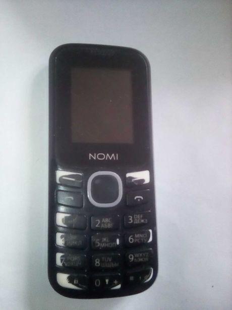 Кнопочный мобильный НОМИ i184 на 2 сим: 3моб и Lifecell!