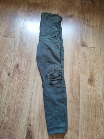 Spodnie ciążowe H&M khaki