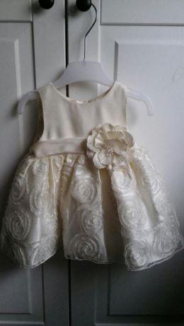 Sukienka 62 cm chrzest, okolicznosc