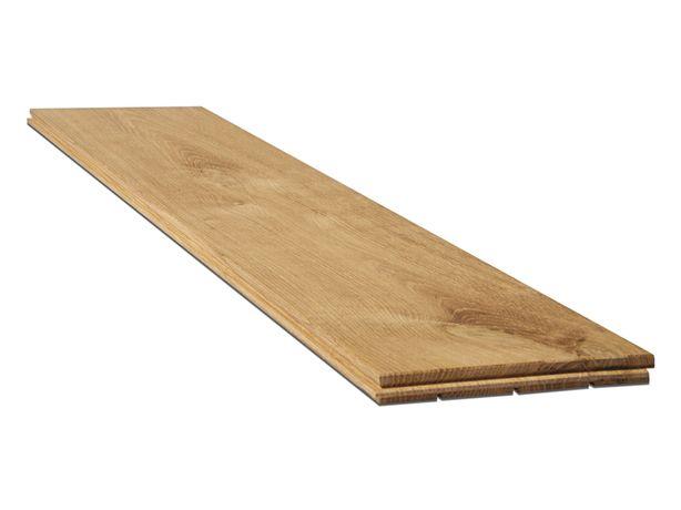 Deska podłogowa dębowa, lita, surowa, klasa RUSTIC, szerokość 10cm.