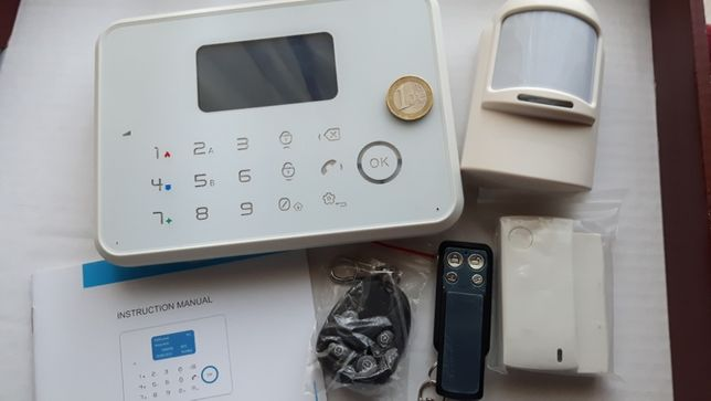 Kit Alarme de Intrusão GSM, casa, loja ou escritório