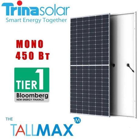Сонячна панель Trina Solar TSM-DE17M(II) 450W солнечная монокристал