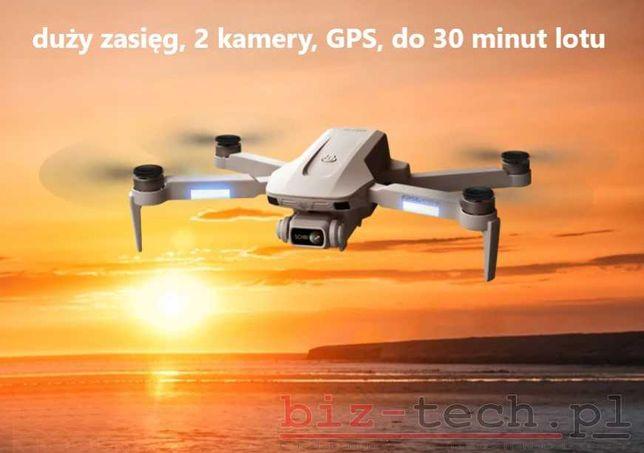 Dron Fast-Mini F8 6K GPS aplikacja WiFi NOWY PL 24h