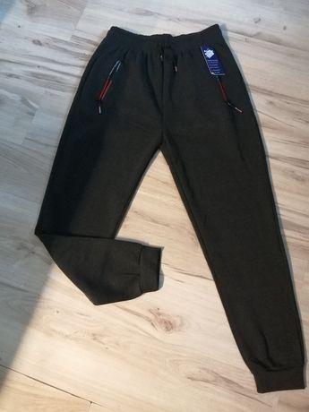Ciepłe spodnie dresowe 3-4 xl