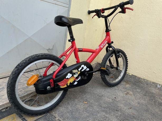 Bicicleta Btwin 3 - 6/7anos