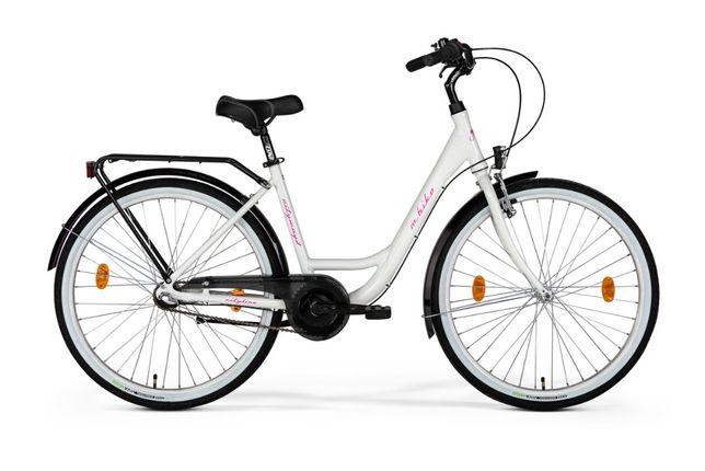 """Nowy rower miejski 26"""" M_Bike Cityway 3 roz. 43cm 2020 Nexus 3"""