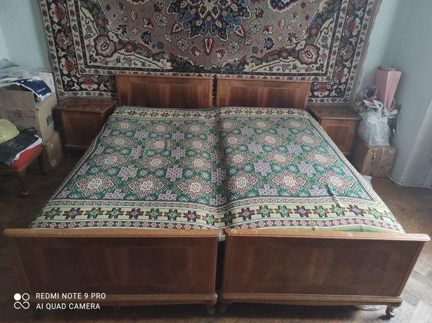 Ліжко дерев'яне двоспальне