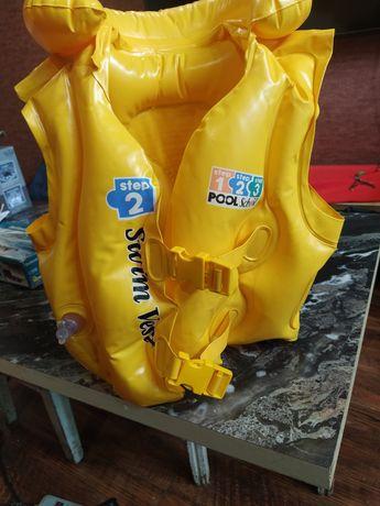 Жилет для моря и бассейна до 30 кг